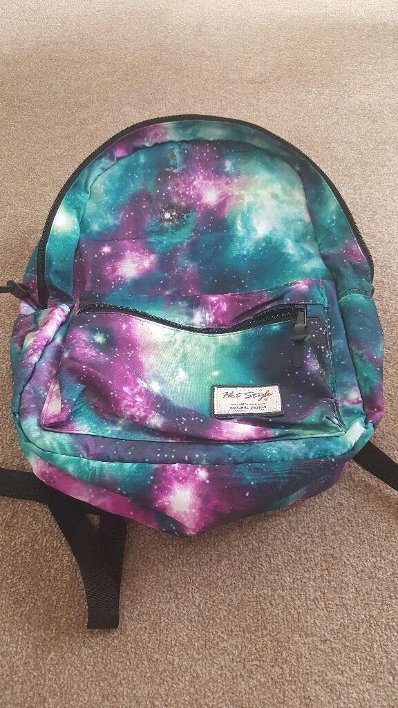 Space pattern bag/ backpack