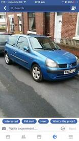 Breaking 2002 Renault Cleo