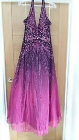 Sequin gown unworn -Size 12- Bargain £35