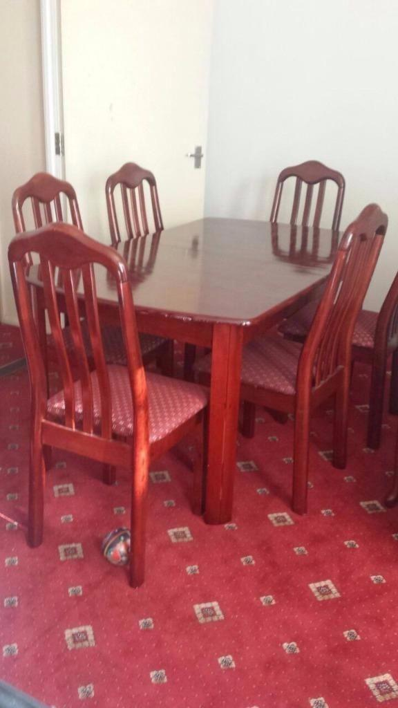 dining table with 6 chairs free delivery in east molesey surrey