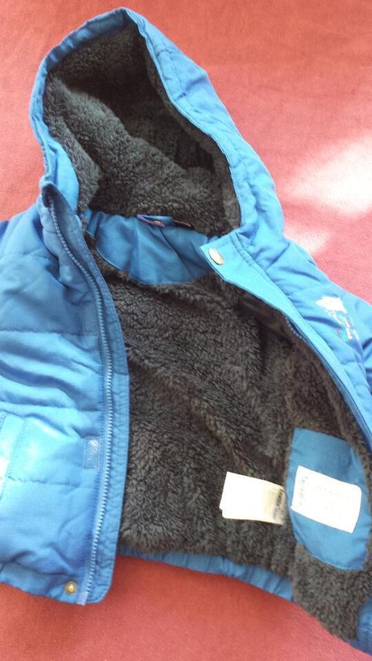 Set Winter Jacke gefüttert Lupilu + Skihose Papagino Gr. 92