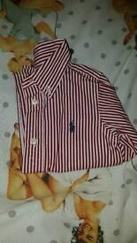 Ralph lauren shirt 12m