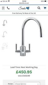Franke kitchen filter tap and filter unit
