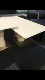 New hall table-£150,coffee table-£150,lamp table-£95