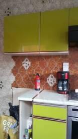 Vintage kitchen units