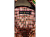 Ralph Lauren short-sleeve check shirt