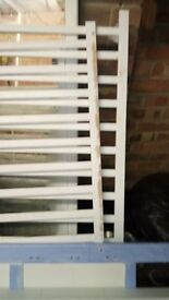 Wooden large cot