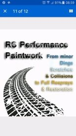 Vehicle Body Repair RS PERFORMANCE PAINTWORK
