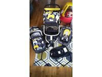 Cosatto Giggle 2 Travel System with 'Hold' Car Seat and ISOFIX Base