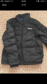 Men's size medium adidas bubble jacket