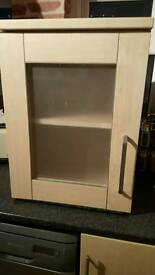 2 kitchen cupboards/cabinets