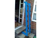 HEAVY DUTY BARBELL RACK FOR LIFTS OR STORAGE