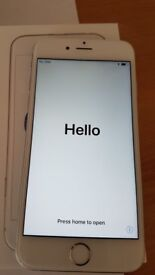 iPhone 6s 64 GB, Silver, Unlocked, Excellent condition