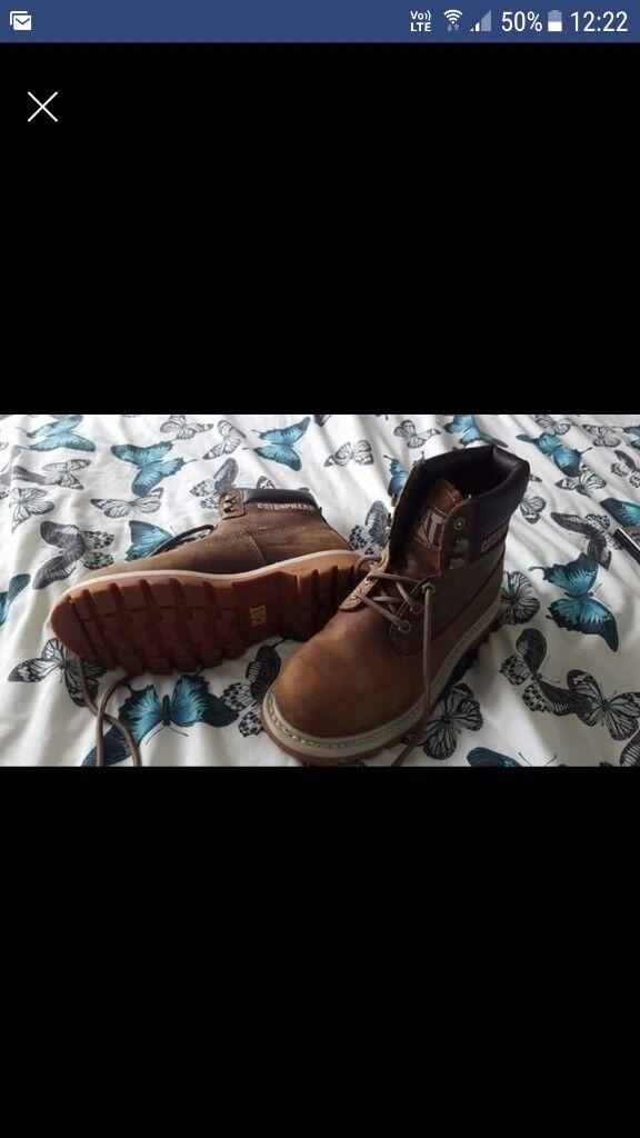 Caterpillar womens boots