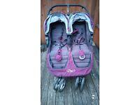 Double Pushchair: Baby Jogger City Mini