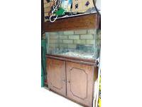 Fish tank for sale £100 O.N.O.