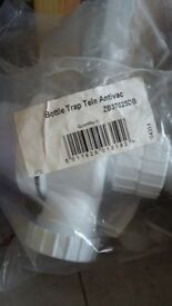 Basin bottle trap tele antivac - brand new