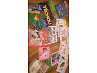 Bundle lot 18 children's French language books