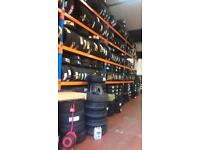 Part Worn tyres, brakes,exhausts, servicing, turbos, turbo fitting from £99.00