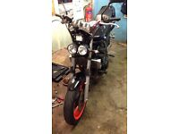 Yamaha FZS 600 street fighter for swap