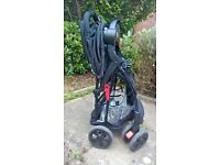 O'baby pushchair with car seat
