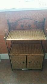 Whicker cabinet