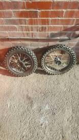 Pitbike wheels