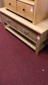 2 top drawer coffee table