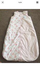 Baby girl sleep bag 2.5 tog mothercare