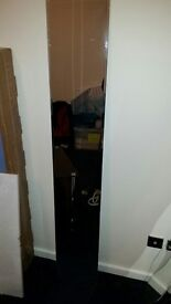 Used tall vertical mirror (straight or curvy). Great conditon on the reflective side!!!!! Ideal!!