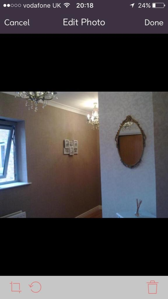 Viewing this Saturday large one bed apartment for rent