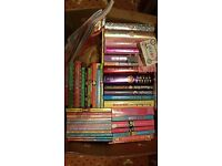 Box of books Dork Diaries and Jacquline Wilson