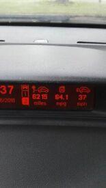 Peugeot 307 dieslel estate 12 months MOT 64mpg