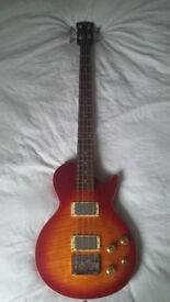 Tokai Love Rock Les Paul Bass, Sunburst. Near Mint Condition!