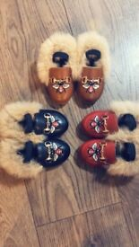 Toddlers Fur Shoes