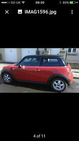 2009 Mini Cooper hatch. 1.6 petrol, 3 door 58127 miles