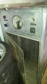 Aluminium electricity cabinet