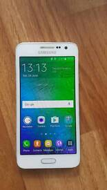 Samsung Galaxy A3. Boxed. Excellent condition.