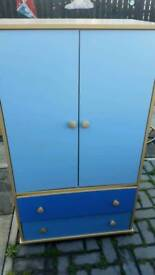 Wardrobe and drawers for childs room