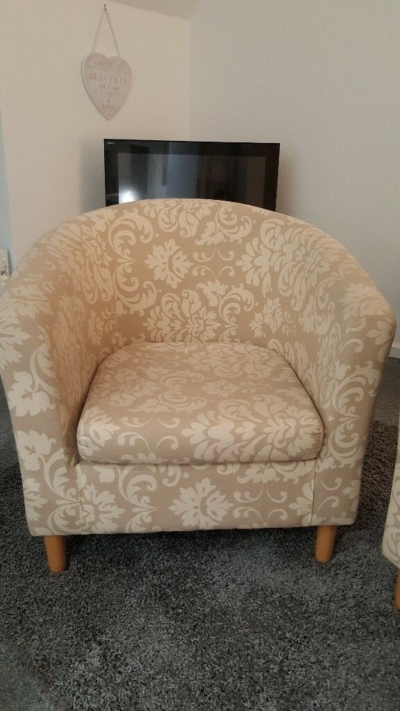 2 Tub Chair Arm Chairs
