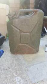 Collectable Metal 20L Jerry Can