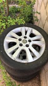 "Vauxhall SXI 16"" Alloys with tyres 5x110 Fitment"