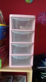 storage draws ideal for makeup craft