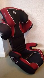 Kiddy Cruiserfix Pro Group 2/3 Car Seat. Isofix type. Suit 4 to 12 year old. 18 to 36kg. Like new