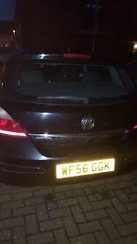 Vauxhaul Astra-Black