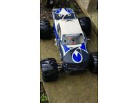 hpi maverick blackout 30cc rc petrol monster truck