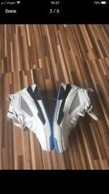 White of Air Jordan trainer size 4.5 Uk