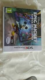 Disney epic mickey mouse 3DS game