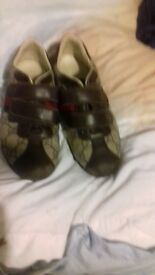 boys reall gucci shoes just need a bit of brown polish in toes other wise good nick size 31