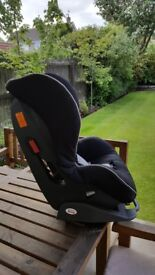 3 different stage car seats